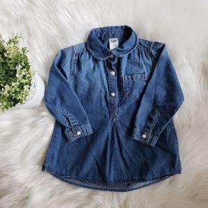 💎3 for $12💎 OshKosh Denim Shirt/Tunic